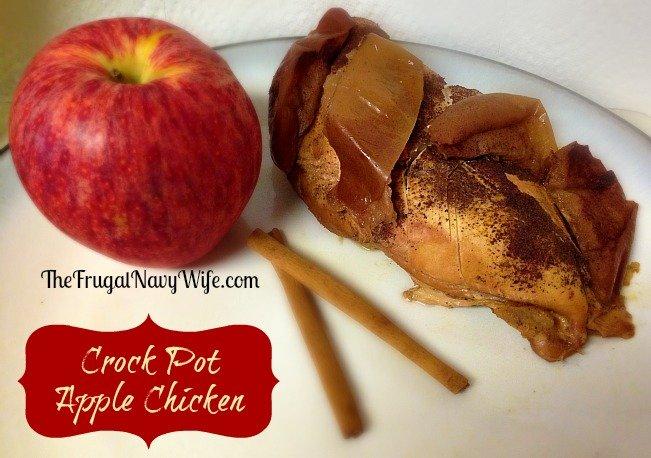 Crock Pot Apple Chicken