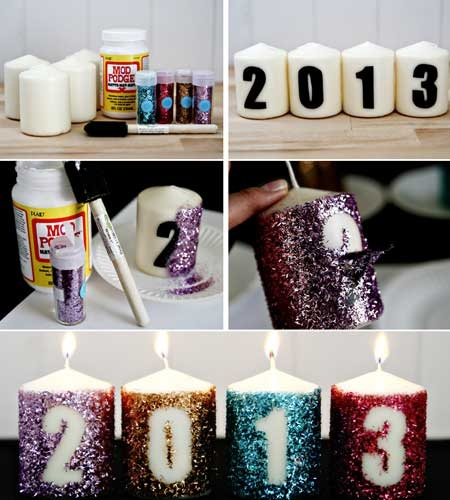 number-glitter-candles