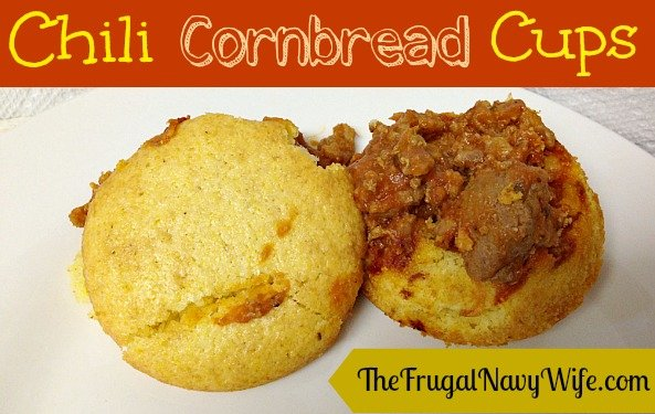 Chili Corn Bread Cups Recipe