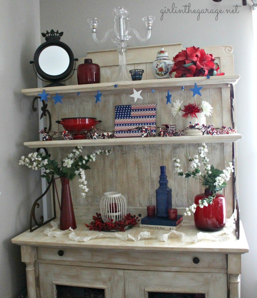 Washi Flag & Patriotic Display