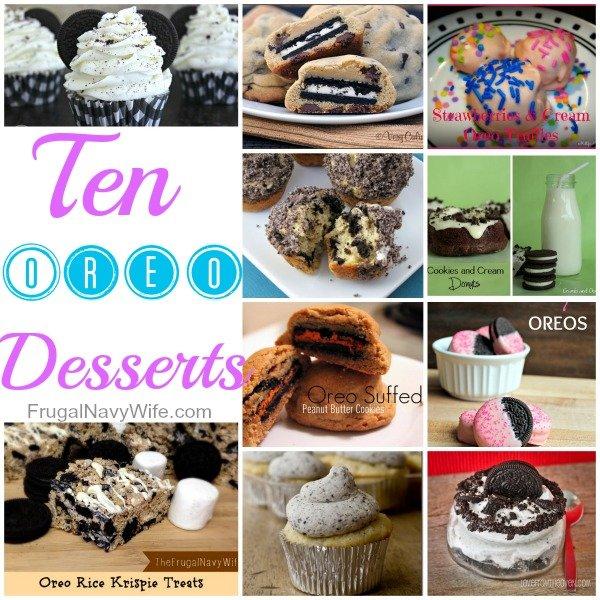 10 baked oreo desserts