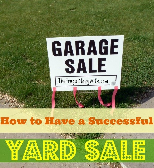 How to Have Successful Yard Sales