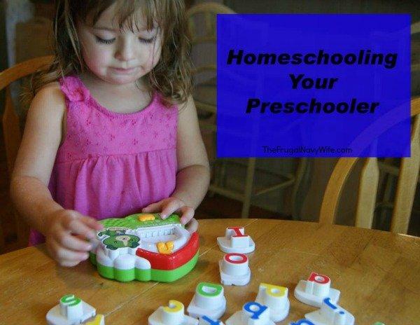 Homeschooling Your Preschooler!