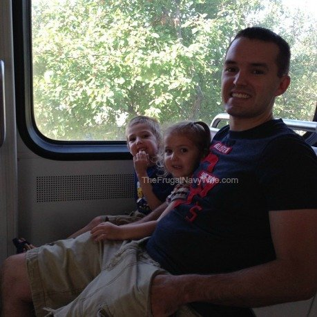 We took the Metro into DC, It was all of our first time on the DC metro!