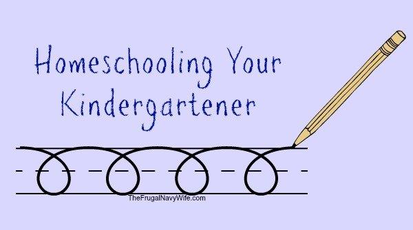 Homeschooling Your Kindergartener