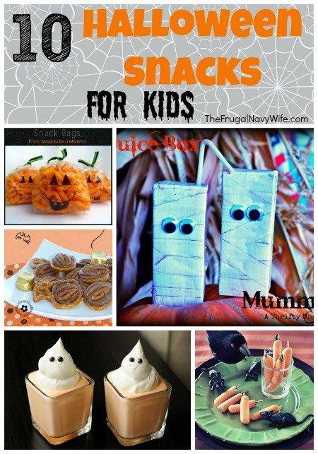 10 Halloween Snacks for Kids!