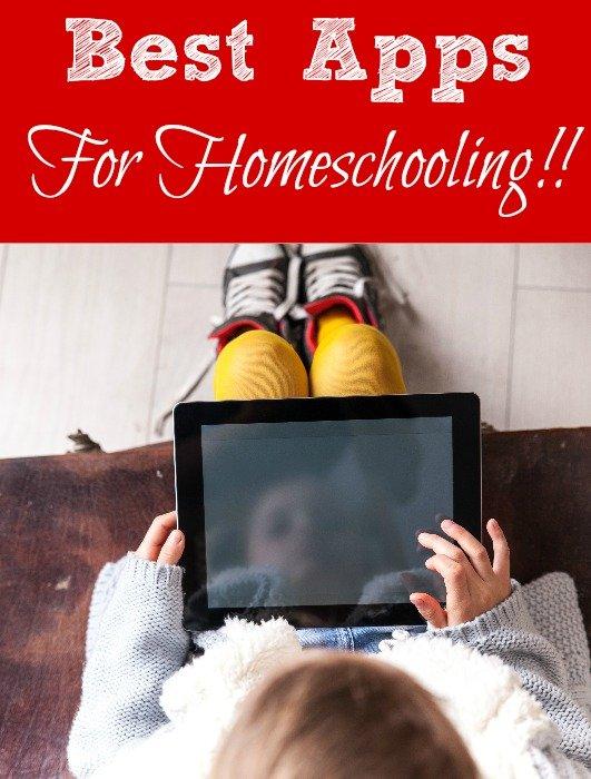 Best Apps For Homeschooling!!
