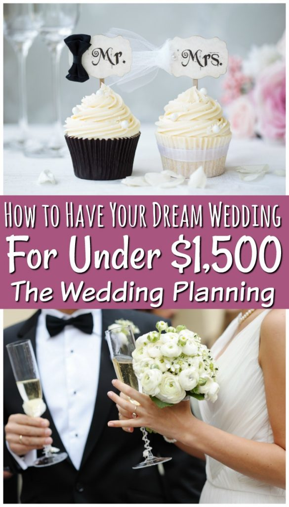 Wedding planning is stressful! When you are on a budget you have to get creative and I'm here to show you how to plan a wedding on a budget. It is possible to have your dream wedding for under $1,500!