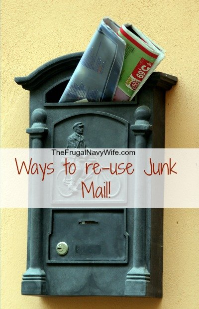 How to re-use junk mail