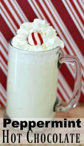 Copycat Starbucks Peppermint White Hot Chocolate Recipe