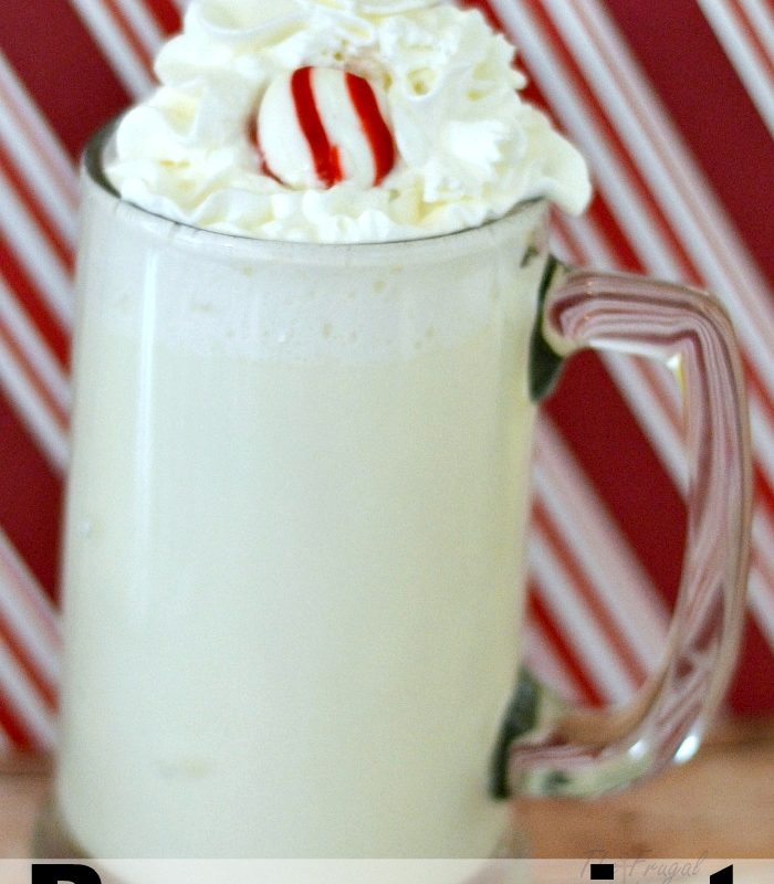 Copycat Starbucks Peppermint White Hot Chocolate Recipe