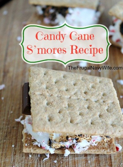 Candy Cane S'mores Recipe