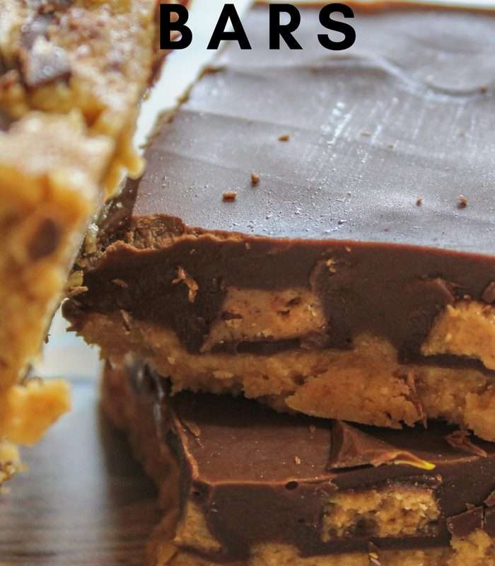Homemade Reese's Peanut Butter Cups Bars
