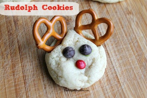 12 Days of Christmas Cookies | Rudolph Cookies