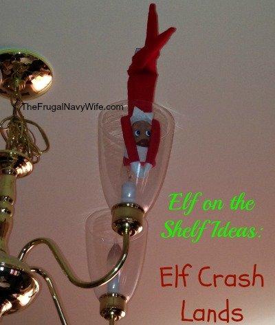 elf crash lands