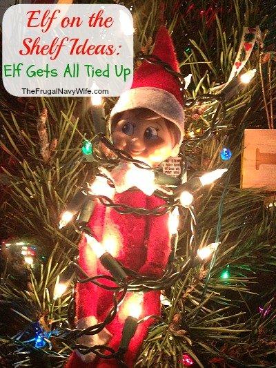 elf get tied up