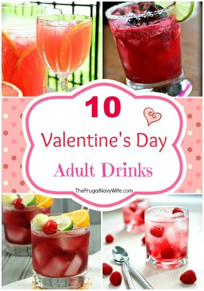 10 Valentine's Day Adult Drinks Round-Up