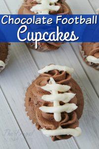 Chocolate Football Cupcakes Recipe