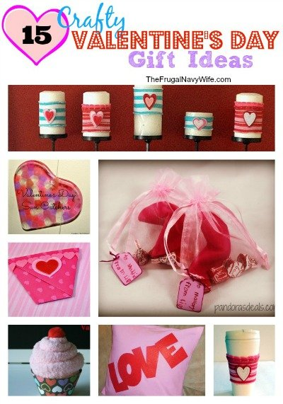 15 Crafty Valentine's Day Gift Ideas