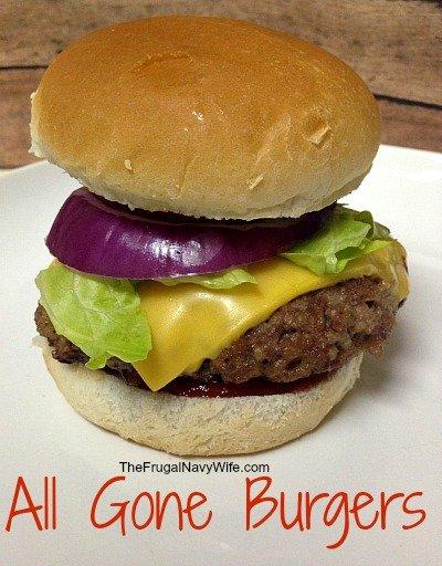 All Gone Burgers Recipe