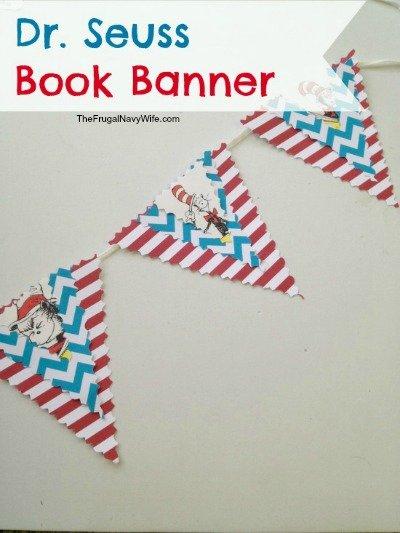 Dr. Seuss Book Banner