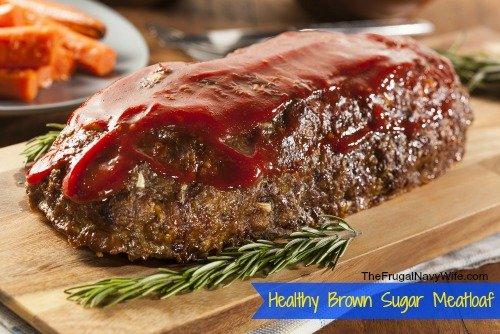 Healthy Brown Sugar Meatloaf