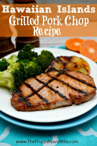 Hawaiian Islands Grilled Pork Chop Recipe