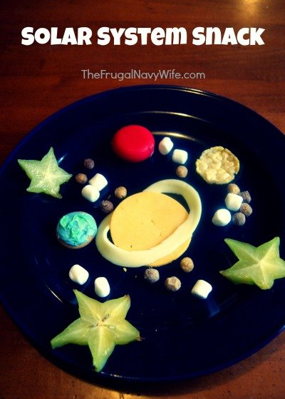 The Magic School Bus Lost in the Solar System Snack
