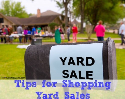 These Yard Sale Tips will help you to avoid the junk and get the best deals.