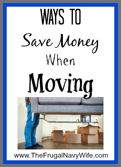 Ways To Save Money When Moving
