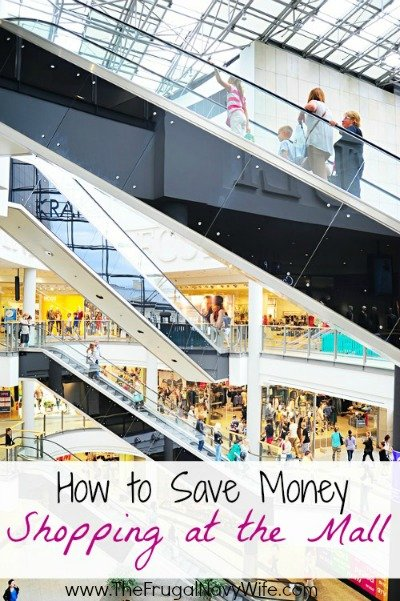 How to save money shopping at the mall