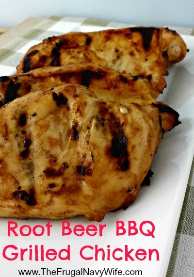 Root Beer BBQ Grilled Chicken