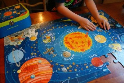 The Magic School Bus Lost in the Solar System Puzzel