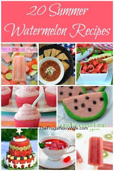 20 Summer Watermelon Recipes