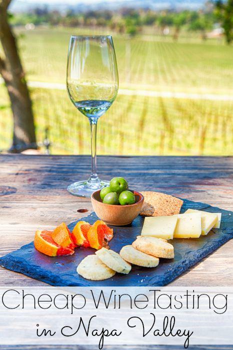 Cheap Wine Tasting in Napa Valley