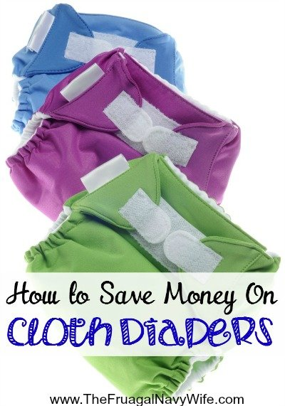How to Save Money on Cloth Diapering