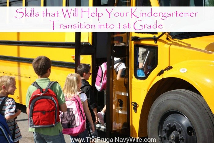 Skills that Will Help Your Kindergartener Transition into 1st Grade