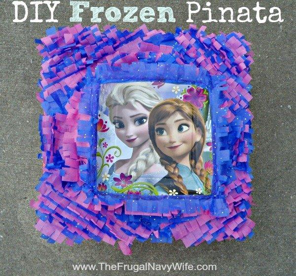 DIY Frozen Pinata
