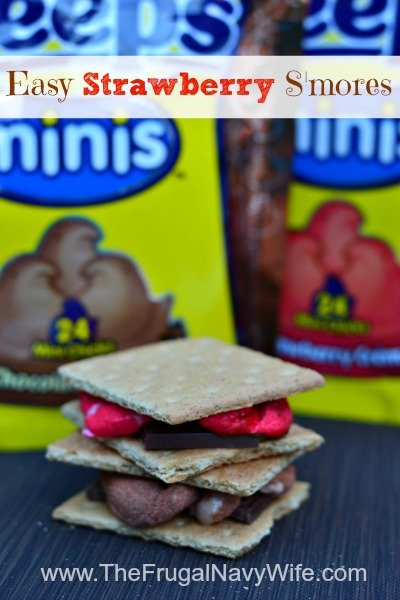 Easy Strawberry S'mores