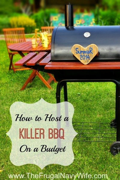 How to Have a Killer BBQ on a Budget