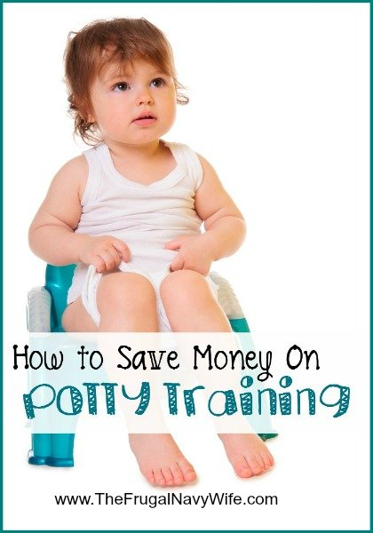 How to Save Money on Potty Training