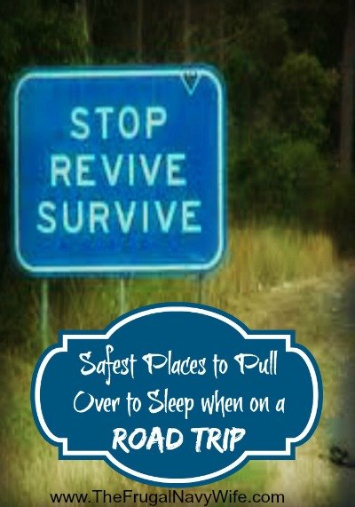 Safest Places to Pull Over to Sleep when on a Road Trip