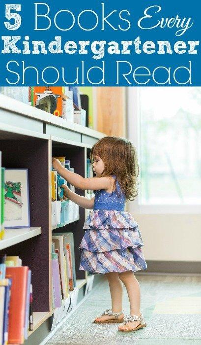 5 Books Every Kindergartener Should Read