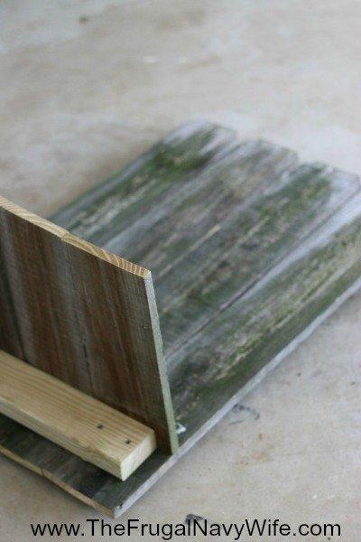 DIY Ohio State Buckeye Bench Seat
