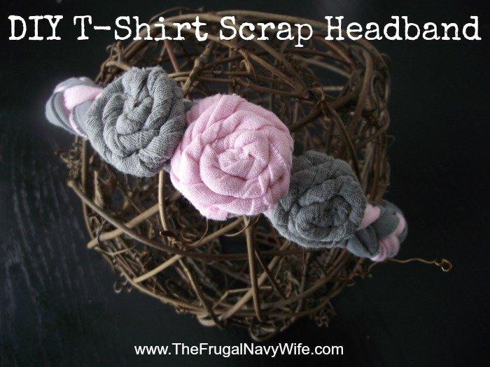 T-Shirt Scrap Headband