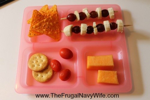 Homeschool Lunches Ideas shapes lunch