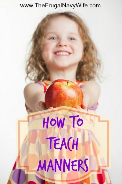 How To Teach Manners