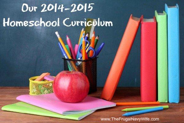 Our 2014-2015 Homeschool Curriculum