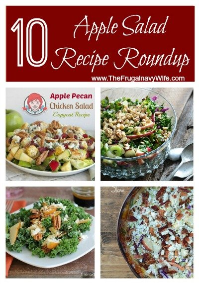 10 Apple Salad Recipes Roundup