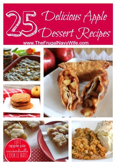 25 Delicious Apple Dessert Recipes